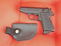Extra Large Walther Ppk Gun Shaped Jet Torch Lighter With Holster Usa Stocked