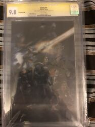 Unity #1 3D Variant CGC 9.8 SS Valiant Comics Signed by Kindt & Crain 2013