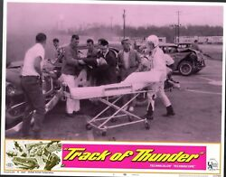 Tommy Kirk Track Of Thunder Car Racing Set Of 8 Orig 11x14 Lobby Cards Lc2465