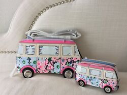 Kate Spade New York California Dreaming 3d Van Coin Purse and Crossbody
