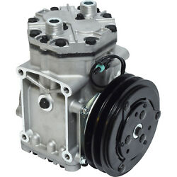 new YORK STYLE ac compressor and clutch LHS 2 GROOVE 1 WIRE ER210L21571