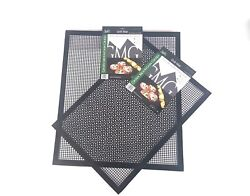 Gmg Grills Bbq Grilling Mat Non-stick Frogmat Large And Small, Gmg-4018 + Gmg-4019
