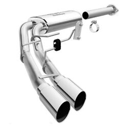 Magnaflow Cat-back Ss 2.5/3in Dual Psgr Side Polished 3.5in Tip B 2015 Ford F