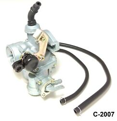 Pz19 Carb Cable Choke Petcock Carburetor For 50cc 70cc 90cc 110cc 100cc 125cc E4