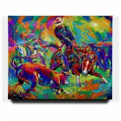 Blend Cota Cutting Deep 48 X 60 S/n Limted Edition Gallery Wrapped Canvas