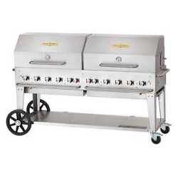 CROWN VERITY MCB-72RDP-NG Mobile Grill Roll Dome PackageNG72