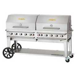CROWN VERITY RCB-72RDP Rental Grill Roll Dome PackageLP72