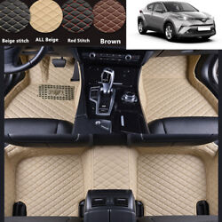 Accessories Interior Floor Mat And Carpets Pad Fit For Toyota C-hr 2016-2019