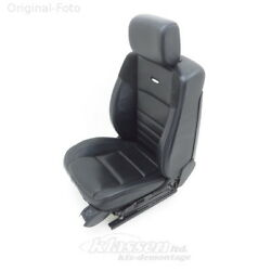 seat front Right Mercedes M-CLASS W164 ML 63 AMG 501A leather EXCLUSIV