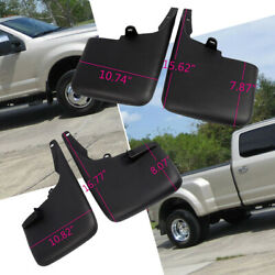 Fits 11-16 Ford F350 F450 Superduty Without Fender Flares Mud Flaps Guards 4PCS