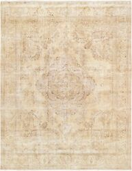 Pasargad Vintage Overdye Collection Hand-knotted Wool Area Rug- 9and039 9 X 12and039 6