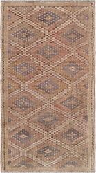 Pasargad Vintage Kilim Collection Hand-woven Lamb's Wool Rug- 6' 0 X 11' 4