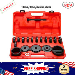 23x Durable Front Wheel Drive Bearing Removal Tools Install Adapter Puller Kit