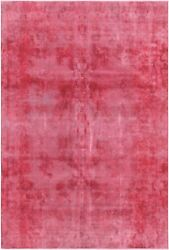 Pasargad Vintage Overdye Collection Hand-knotted Lamb's Wool Rug- 7' 7 X 11' 8