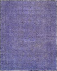 Pasargad Vintage Overdye Collection Hand-knotted Lamb's Wool Rug-9' 2 X 11' 11