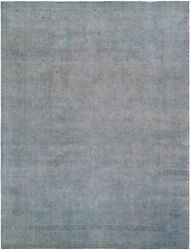 Pasargad Vintage Overdye Collection Hand-knotted Lamband039s Wool Rug- 9and039 5 X 12and039 8