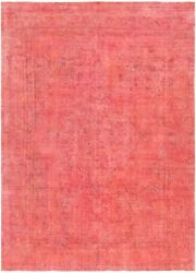 Pasargad Vintage Overdye Collection Hand-knotted Lamb's Wool Rug- 8' 1 X 11' 3