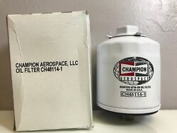 Brand New Champion Aircraft Oil Filter P/n Ch48114-1 W/ Certs