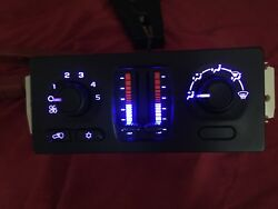 03 to 09 Envoy GM Silverado Trailblazer AC Climate Temperature Control wLED