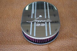 Chevy Impala Ss Vintage Chevrolet 12 Inch Oval Air Cleaner Kandn Washable Filter