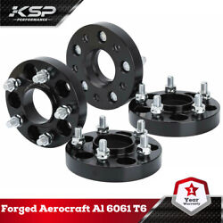 4x1 Wheel Spacers Hubcentric 5x110 M12x1.5 Studs 65.1mm Fit Jeep Renegade 4wd