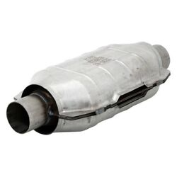 For Chevy Corvette 95-03 OBDII Universal Fit Oval Body Catalytic Converter
