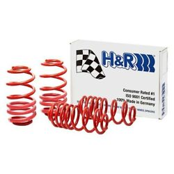 For Audi A5 Quattro 08-15 1.3 X 1.25 Sport Front And Rear Lowering Coil Springs