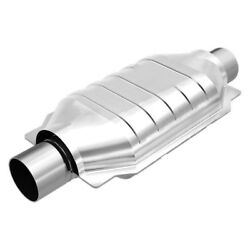For Chevy Express 2500 96-05 OBDII Universal Fit Oval Body Catalytic Converter
