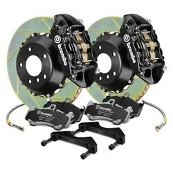 For Mini Cooper 14-16 Brembo GT Series Slotted 2-Piece Rotor Front Big Brake Kit