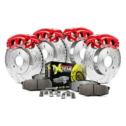 For Dodge Charger 06-11 Brake Kit Power Stop 1-click Street Warrior Z26 Drilled