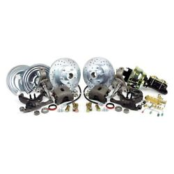 For Dodge Charger 66-72 Brake Conversion Kit Legend Series Drilled And Slotted