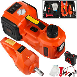 3 In 1 12v Dc 3t Electric Hydraulic Floor Jack Lift Set With Impact .wrench