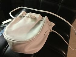 Vintage Coach Drawstring Bucket Bag Purse
