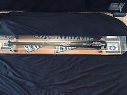 Ken Griffey Jr Signed Bat And Ball With Card In One Of A Kind Showcase