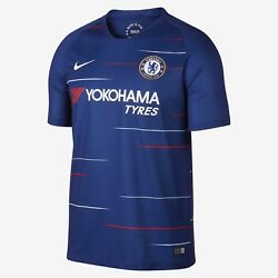 Youth 2018/19 Team Chelsea Football Club Home Blue Stadium Jersey Soccer Large