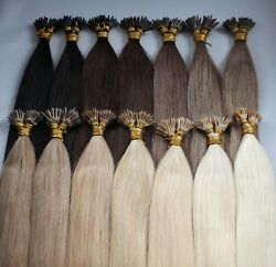 Luxury Temple Stick I Tip Hair Extensions 18 And 20 1g Strands Phoebes
