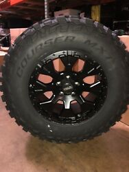 Helo He878 17x9 Wheels Rims 33 Mxt Mt Tires Package 8x170 Ford F250 8 Lug