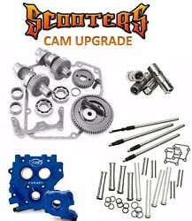 585g Sands Gear Drive Cams Oil Pump Tc3 Cam Plate Pushrods Lifters Engine Kit 88