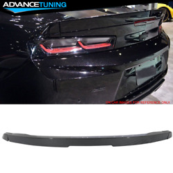 Fits 16-19 Camaro OE Factory 3-Piece Blade Trunk Spoiler OEM Painted #WA139X
