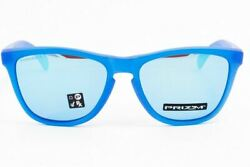 OO9013 C755 Mens Oakley Frogskins Sunglasses X Ray Blue Prizm Sapphire $66.99