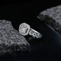 Modern Engagement Ring With 1.50ct Of Total Diamond Weight Crafted In White Gold