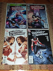 Hot Wonder Woman Variants Mint Condition S 611-614 + 1 Free Dc Variant