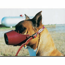 Leather Brothers Canine Leather Muzzle Size 4