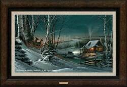 Evening With Friends Framed Legacy Canvas By Terry Redlin