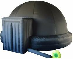 5m Portable Inflatable Planetarium Dome Tent School Inflatable Projection Screen