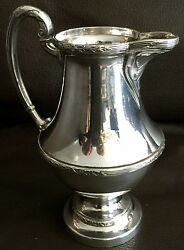 Antique Victorian 1890s Mappin And Webb Silver Plated Andldquoprincess Plateandrdquo Creamer