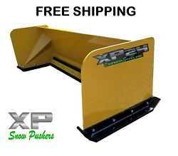 6and039 Xp24 Snow Pusher Box Skid Steer Bobcat Case Caterpillar Free Shipping-rtr