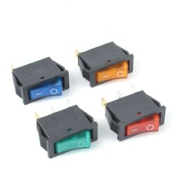 Kcd3 2 Position 3 Terminal Rectangle On/off Led Rocker Switch 16a 250v Ac