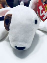 Ty Beanie Baby BULL TERRIER DOG BUTCH with Original Tags 1999