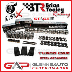 Brian Tooley Racing Btr Stage 2 Twin Turbo Cam Kit - Ls/lsx Steel Retainers
